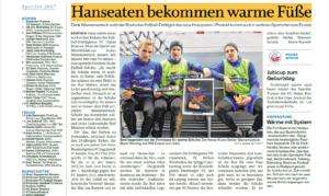 Zeitungsbericht FC Hansa Rostock