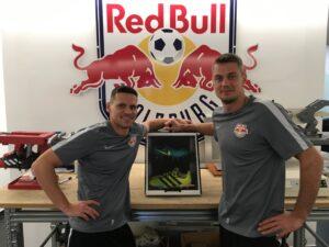 RB Salzburg FORMBASE Mannschaft Kabine