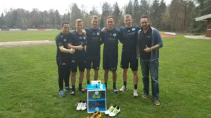Stuttgarter Kickers FORMBASE Mannschaftsbesuch